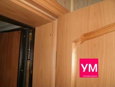 Как установить вторую деревянную входную дверь своими руками в ютубе 60